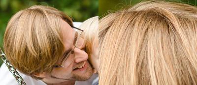 Archiv-Bild: Einige Monate vor dem Selbstversuch, nach zirka drei Jahrzehnten ordinärer Haarshampoo-Verwendung