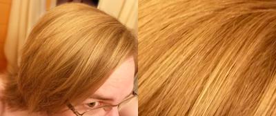 """Haare nach 120 Tagen """"No-Poo"""", also gänzlich ohne Haarshampoo (oder andere Pflegeprodukte)"""
